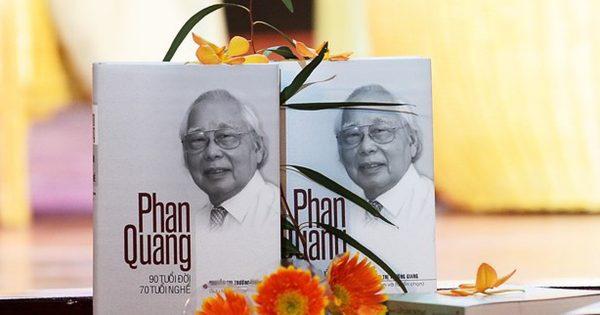 Nhà báo Phan Quang